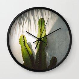 SoCal Shadows Wall Clock