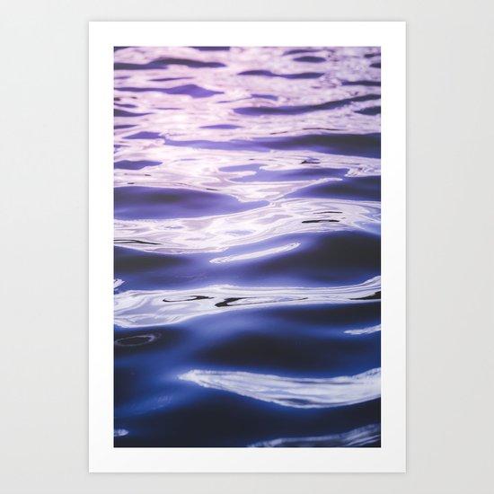 Fluid summer II Art Print