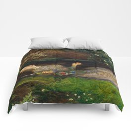 Ophelia, John Everett Millais Comforters