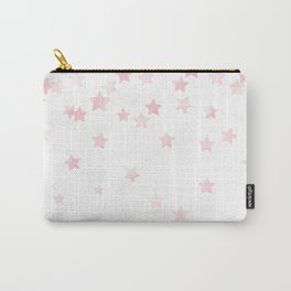 Falling Stars - Pink Carry-All Pouch