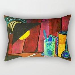 BODEGÓN CON GORRA Rectangular Pillow