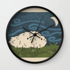 Three Sheeps to the Wind Wall Clock