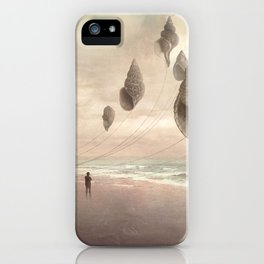 Floating Giants iPhone Case