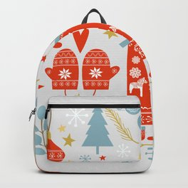 Laplander Winter Holiday Backpack