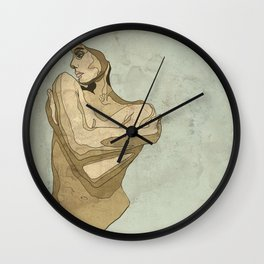 lady love Wall Clock