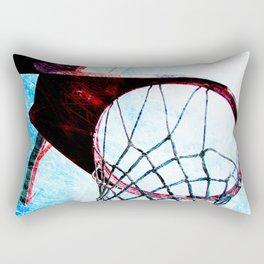 Basketball artwork spotlight vs 4 sports art Rectangular Pillow