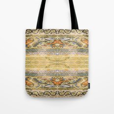 Mosaic fish Tote Bag