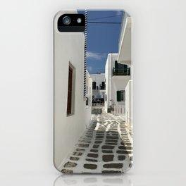 Grecian Alleyway iPhone Case