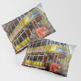 Leeds Tram 399 Pillow Sham
