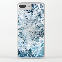 Ocean Mandala - My Wild Heart Clear iPhone Case