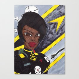 Star Fighter Pilot Canvas Print