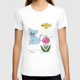 Smiling Cat T-shirt