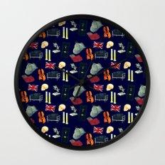 221B Baker Street version 2 Wall Clock