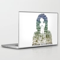 bjork Laptop & iPad Skins featuring Bjork Human Behaviour  by b_ethany