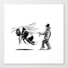Bee Adventurous Canvas Print
