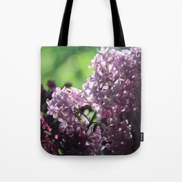 Lilac in Almaty  Tote Bag