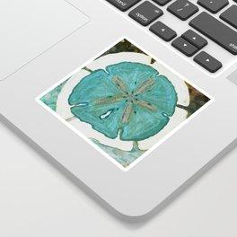 Sand Dollars Ocean Colors Sticker