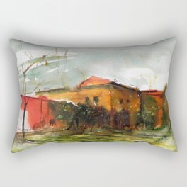 Who is in the house of my heart Rectangular Pillow