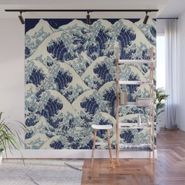 stormy sea Wall Mural