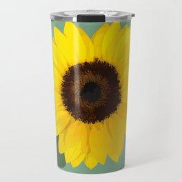 Simple Sunflower Travel Mug