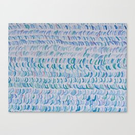 WAVES & SEAWEED Canvas Print