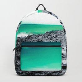 Teal Hawaii Backpack
