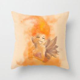 Fire fairy 2 Throw Pillow