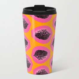 Pink Papaya Travel Mug