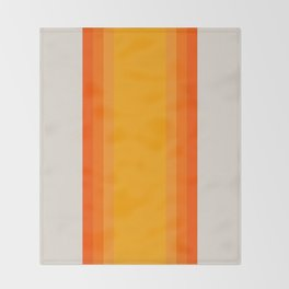 Sunrise Rainbow - Straight Throw Blanket