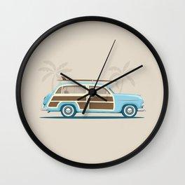 Iconic Surf Car Wall Clock