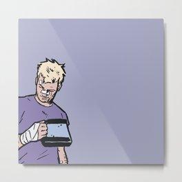 "Clint Barton -  ""Good boy"" Metal Print"
