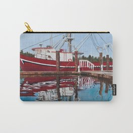 Ship on the Coast of Oregon Carry-All Pouch