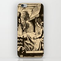 sandman iPhone & iPod Skins featuring The Sandman by DOOMSDAY