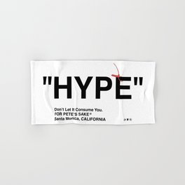 """HYPE"" Hand & Bath Towel"
