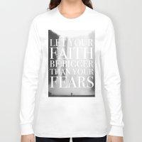 faith Long Sleeve T-shirts featuring Faith by eARTh