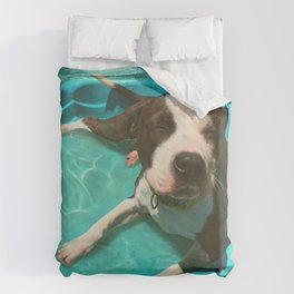SERENA (shelter pup) Duvet Cover