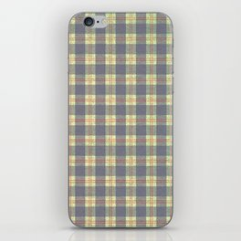 Warpaint Plaid iPhone Skin