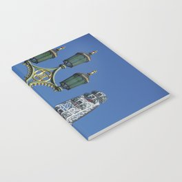 London eye and lamps Notebook