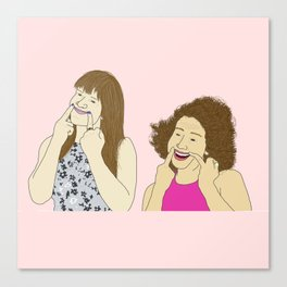 Broad City - You Should Smile More Canvas Print