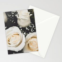 Airy Roses Stationery Cards