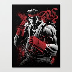 Japanese Fighter Canvas Print