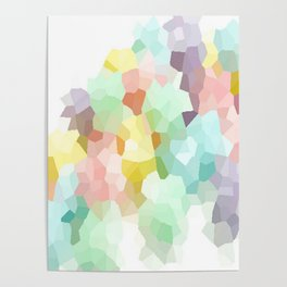 Pastel Abstract Poster
