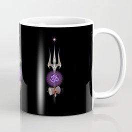 sacred symbols of yoga. Shiva Om Coffee Mug
