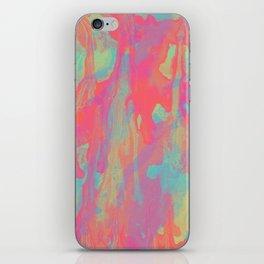 Neon Marble iPhone Skin