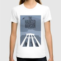 haunted mansion T-shirts featuring The Haunted Mansion by Minimalist Magic - Art by Tony Sherg