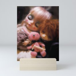 Maja and Jerry Mini Art Print