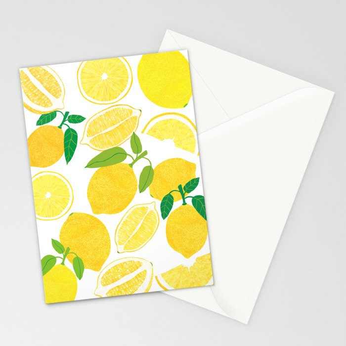Lemon Harvest Stationery Cards