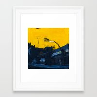 medicine Framed Art Prints featuring Medicine Hat by Kari Minchin