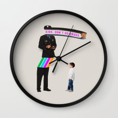 Kids. Don't Do Drugs Wall Clock