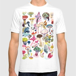 Mushroom Collection - b r i g h t s T-shirt